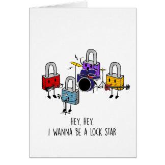 Lock Stars Card