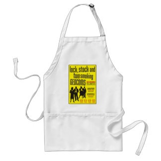 Lock, Stock And Two Smoking GEDCOMs Adult Apron