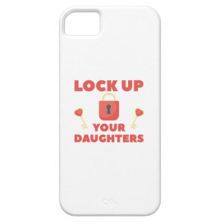 Lock Up You Daughters iPhone SE/5/5s Case