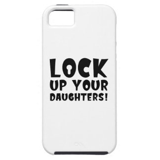Lock Up Your Daughters! iPhone 5 Covers