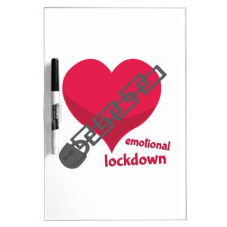 Lockdown emocional pizarras