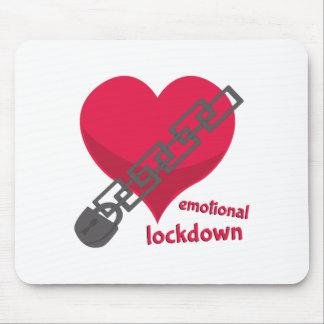 Lockdown emocional alfombrillas de ratones