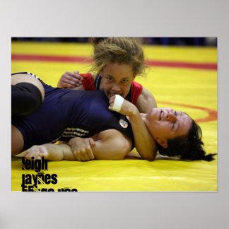 lockdown, Leigh Jaynes55kgs USA Posters