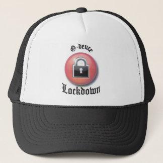 lockdown trucker hat