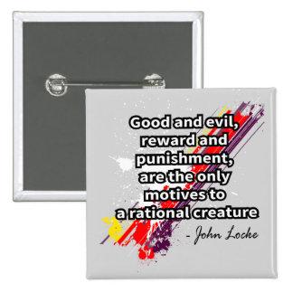 Locke Pinback Button