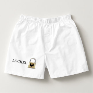 Locked in Chastity Boxers