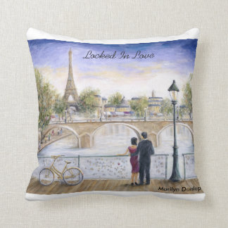 Locked In Love Throw Pillow