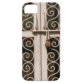 Locked metal gate with patterns iPhone 5/5S cover