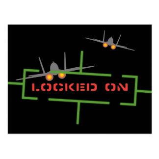 Locked On Target Display Postcard