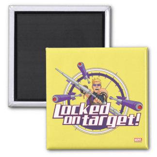 Locked On Target! Magnet