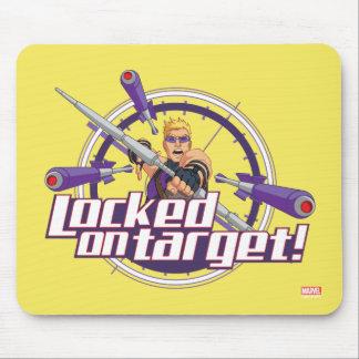 Locked On Target! Mouse Pad