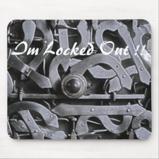 Locked Out! Mousepads