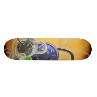 Locked Skateboard
