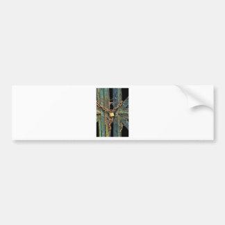 locked up bumper sticker