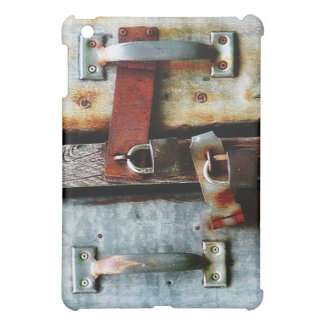 Locked up Tight! Two Rusty Bars and Key Locks Cover For The iPad Mini
