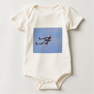 Lockeed P-38J Lightning Baby Bodysuit