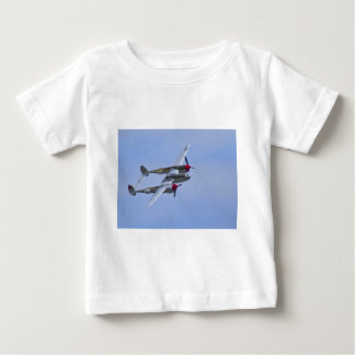 Lockeed P-38J Lightning Baby T-Shirt
