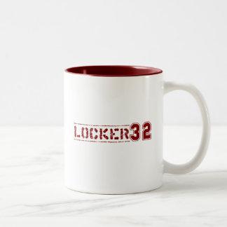 Locker 32 Two Tone Mug