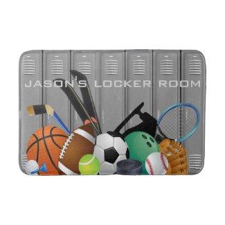 Locker Room Design Bath Mat