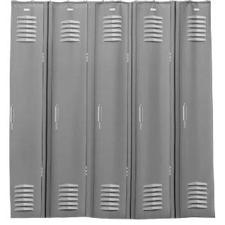 Locker Room Design Shower Curtain at Zazzle