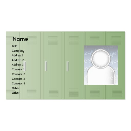 Lockers - Business Business Card