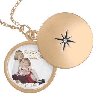 Locket adaptable del día de madre del recuerdo de  pendientes personalizados