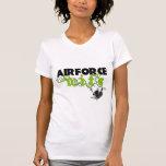 Locket de la esposa de la fuerza aérea camisetas