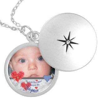 Locket de la foto de la adopción colgantes