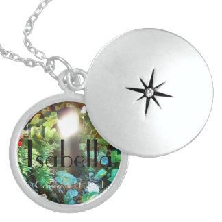 Locket de la plata esterlina de Isabel Medallones
