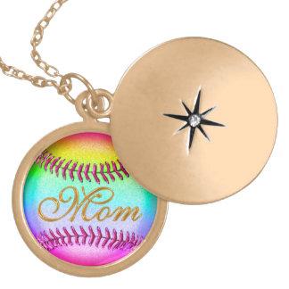 Locket del béisbol para las mamáes dijes