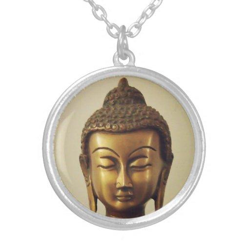 Locket divino de Buda Colgante Redondo