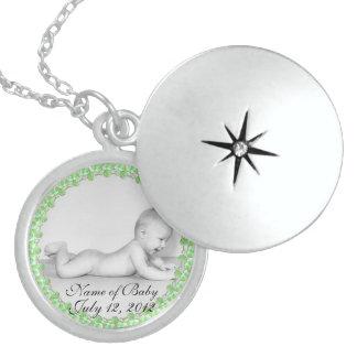 Locket Neckla de la plata esterlina del recuerdo d Medallón