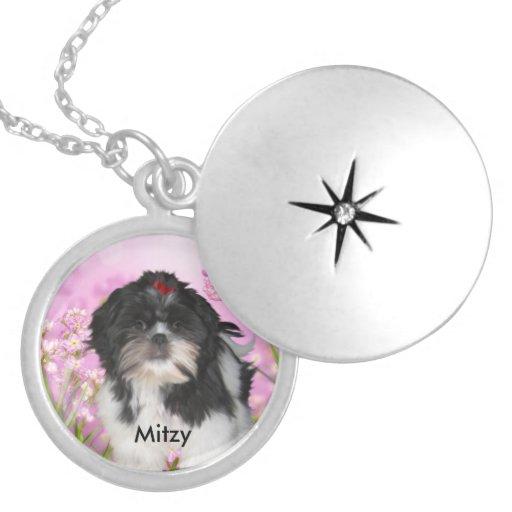 Locket Necklace Add Your Pet Dog photo Lockets