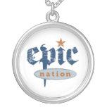 """Locket original del logotipo """"de la nación épica"""" grimpolas"""