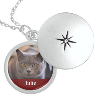 Locket with YOUR Cat's Name and Photo!