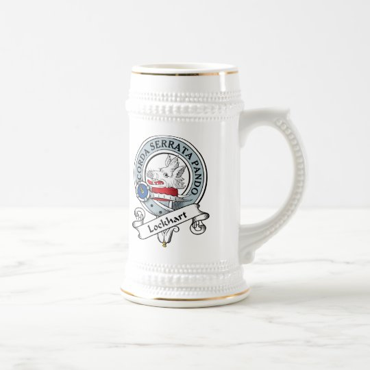 Lockhart Clan Badge Beer Stein