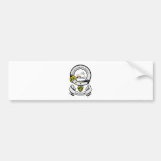 LOCKHART Coat of Arms Bumper Sticker