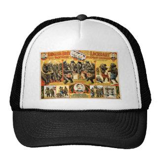 Lockhart Elephant Comedians Vintage Circus Act Trucker Hat