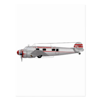 Lockheed 12A Electra Post Cards