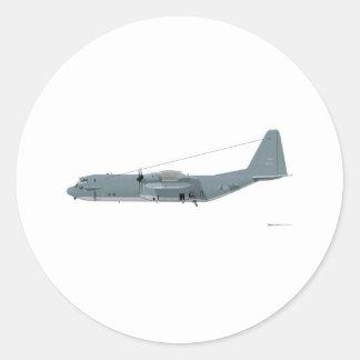 Lockheed AC-130 Spectre Classic Round Sticker