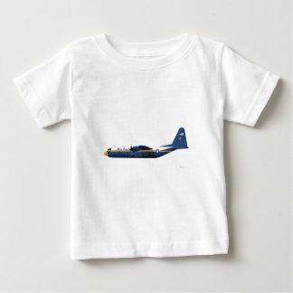 Lockheed C-130 Hercules Blue Angels Blue Baby T-Shirt