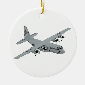 Lockheed C-130 Hercules Ceramic Ornament