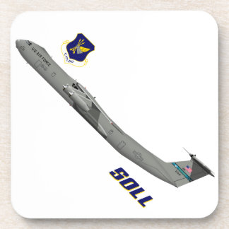 Lockheed C-141B Starlifter Special Ops Low Level Beverage Coasters