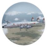 Lockheed Constellation Plate