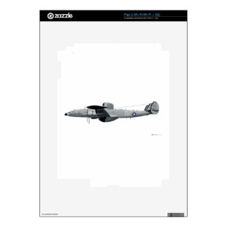 """Lockheed EC-121 Warning Star """"Triple Nickel"""" Skins For iPad 2"""