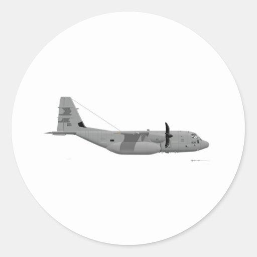 Lockheed EC-130J Commando Solo Stickers