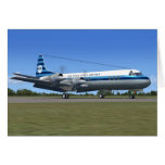 Lockheed Electra Airliner Cards