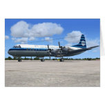 Lockheed Electra Airliner Greeting Cards
