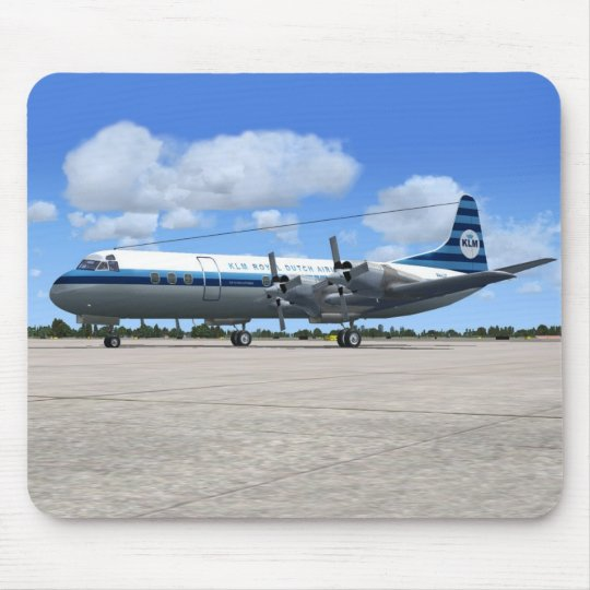 Lockheed Electra Airliner Mouse Pad