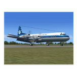 Lockheed Electra Airliner Post Card